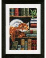 Boekenrek met kat vervaco pn-0158440