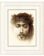 Borduurpakket jezus om te borduren van vervaco pn-0145795