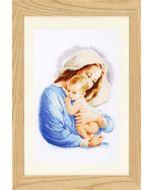 Borduurpakket  Maria om te borduren Vervaco pn-0158311