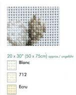 Aida 11ct  borduurstof  dmc kleur ecru  afm. 50x75 cm
