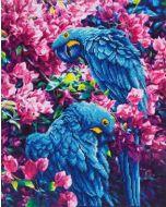 Diamond Dotz Blue Parrots - Blauwe Papegaaien DD10.002