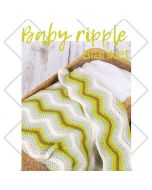 Durable haakpakket Baby Ripple Blanket groen