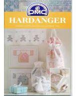 Hardangerboekje van DMC Hardanger geboorte