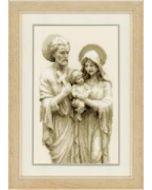 Borduurpakket Jozef, Jezus en Maria