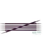Sokkennaalden KnitPro Zing 6.0mm, 20cm lang