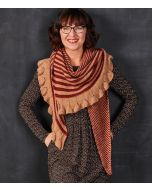 Lana Grossa Nora sjaal B reien van Ecopuno
