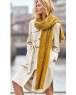 Lana Grossa sjaal van Ecopuno (m22)
