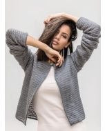 Lana Grossa vest breien van Cool Wool en Silkhair Lusso (m11)