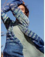 Lana Grossa vest breien van Silkhair en Silkhair Hand dyed