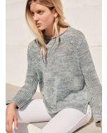 Lana Grossa zachte trui breien van Sommerseide classici 18