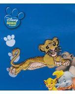 Liggende Simba van The Lion King applicatie van Disney.