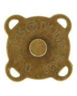Magneetknopen aannaaibaar oud goud