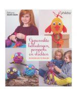 Maire Claire boek 841 Gepunnikte hebbedingen, pompons en vlechten
