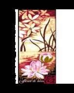 Voorbedrukte canvas Fleurs de Lotus om te borduren (stramien)
