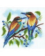 Borduurpakket Birds - vogels met telpatroon PANNA