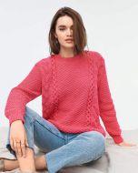 Phildar dames trui breien uit boek 183 model 29