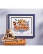 Borduurpakket voor baby's ark (Pieter)