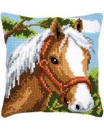 Vervaco kruissteek borduurkussen paard pn-0008624