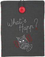 Borduurpakket voorbedrukte Tasje voor iPad What's Happ vervaco pn-0156719