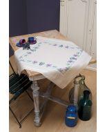 Borduurpakket voorbedrukt tafelkleedje Lavendel om te bordurenvan Vervaco pn-0165238