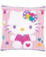 Borduurpakket kruissteekkussen Hello Kitty van Vervaco  pn-0172807