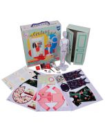 Leren naaien wordt kinderspel met My Couture Atelier Dress your doll