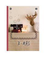 Rico Design borduurboek X-mas Nr.156 met kerst borduurpatronen
