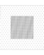 Rico Design tafelkleed zonder patroon 90x90cm met stippen