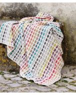 Scheepjeswol hartjes deken haken van Stone Washed XL