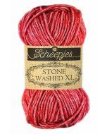 Garen Stone Washed XL van Scheepjes  kl.847 rood
