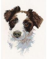Borduurpakket scruff van Heritage crafts (hond)