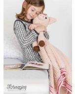 Woolytoons knuffeldeken ' Veerle het varken'