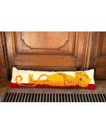 Vervaco borduurpakket tochtkussen Ludieke kat borduren pn-0173047