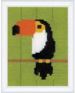 Vervaco kinder borduurpakket Toekan spansteek pn-0179552