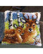 Vervaco knooppakket knoopkussen hert in de sneeuw pn-0153593