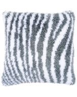 Vervaco knooppakket knoopkussen zebramotief pn-0172810