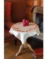 Vervaco tafelkleed kerstmotiefjes borduren pn-0158093