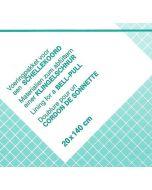 Voering pakket voor borduurpakketten zoals voor schellekoord of groeimeter